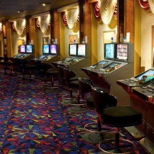 spiral t-Casino carpet