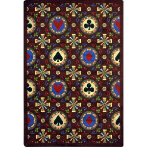 stacked_deck_burgundy-Casino carpet